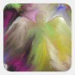 Het abstracte Ontwerp van de Engel Sticker