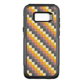 Het abstracte Patroon van de Kleur van het Net OtterBox Commuter Samsung Galaxy S8+ Hoesje