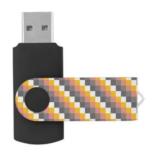 Het abstracte Patroon van de Kleur van het Net USB Stick