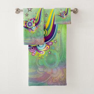 Het abstracte patroon van Fantacy Bad Handdoek