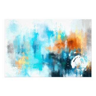 Het abstracte Schilderen Fotoafdruk