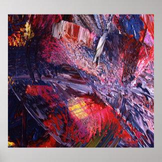 Het abstracte Schilderen van de Kunst Poster