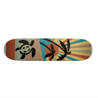 Het abstracte Skateboard van het Zeegezicht