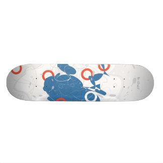 Het Abstracte Skateboard van Suzukigo