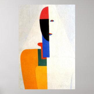 """Het abstracte """"Torso van de Vrouw """" Poster"""