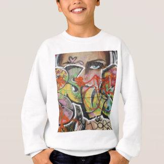 het abstracte van het de muurschilderingsoort trui