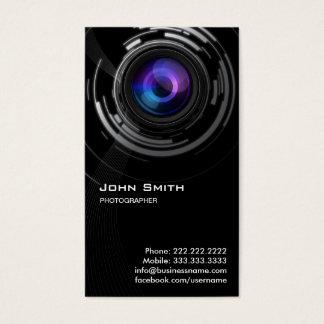 Het abstracte Visitekaartje van de Fotograaf van Visitekaartjes