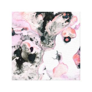 Het abstracte vormen canvas print