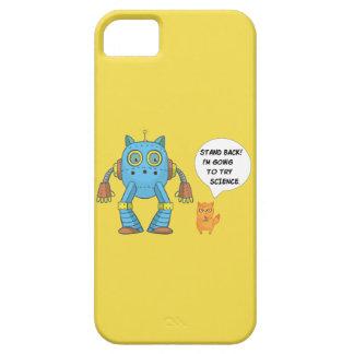 Het Achter Gaan van de tribune Kat van de Robot Barely There iPhone 5 Hoesje