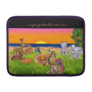 Het achtervolgen van Vlinders door Happy Juul MacBook Sleeve