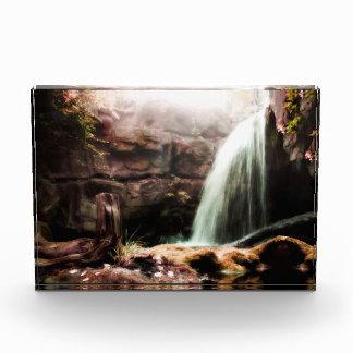 Het AcrylBlok van de waterval Fotoblokken