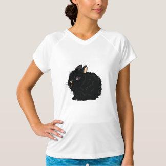 Het Actieve T-shirt van de zwarte Vrouwen van het