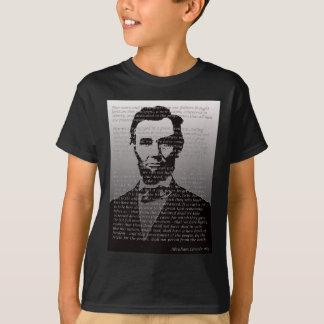 Het Adres van Lincoln Gettysburg van Abe T Shirt
