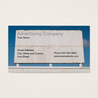 Het adverterene Visitekaartje van het Bedrijf Visitekaartjes