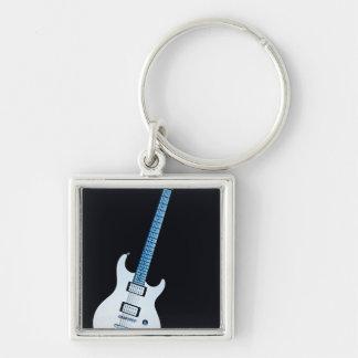 Het Afbeelding Keychain van de gitaar Sleutelhanger