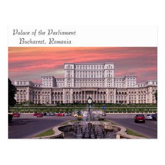 Het afbeelding van Boekarest voor briefkaart