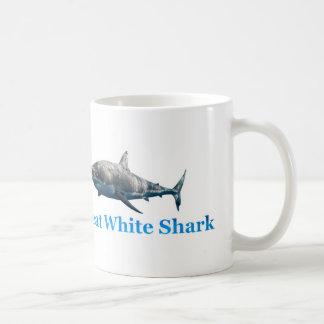 Het afbeelding van de haai voor mok