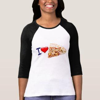 Het Afbeelding van de Liefde van de pizza T Shirt