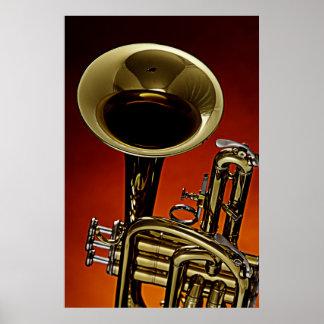 Het Afbeelding van het Poster van de trompet van e