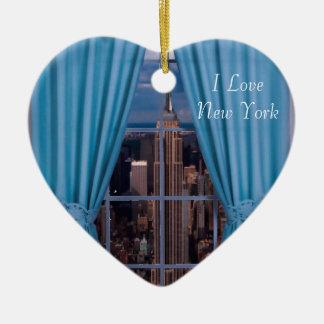 Het afbeelding van New York voor het Ornament van
