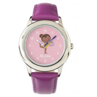 Het Afrikaanse Amerikaanse Horloge van de