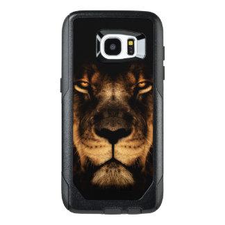 Het Afrikaanse Art. van het Gezicht van de Leeuw OtterBox Samsung Galaxy S7 Edge Hoesje
