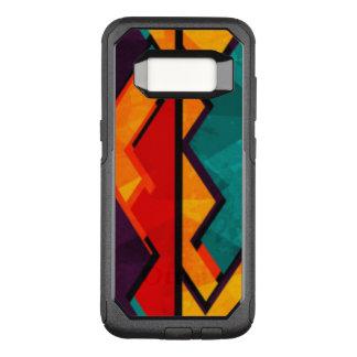 Het Afrikaanse Multi Gekleurde Ontwerp van het OtterBox Commuter Samsung Galaxy S8 Hoesje