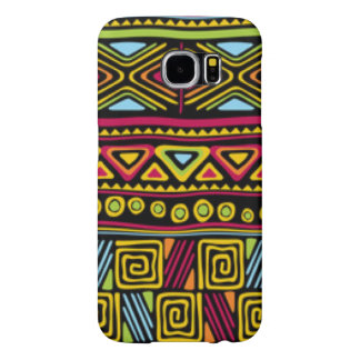 Het Afrikaanse MultiOntwerp van de Druk van het Samsung Galaxy S6 Hoesje