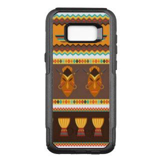 Het Afrikaanse Ontwerp van het Patroon van de OtterBox Commuter Samsung Galaxy S8+ Hoesje