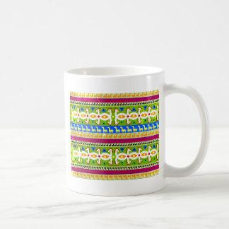 Het Afrikaanse patroon van de Eenhoorn Koffiemok