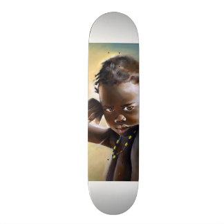 Het Afrikaanse Skateboard van de Zomer van het Kin