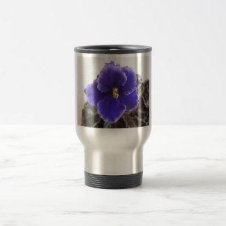 Het Afrikaanse Violette Bloeien Reisbeker