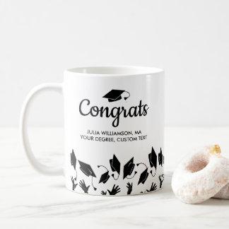 Het Afstudeerder van Congrats van de Gift van de Koffiemok