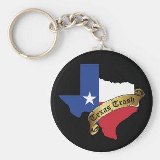 Het Afval Keychain van Texas Sleutelhanger