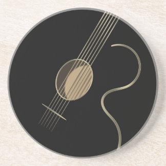 Het akoestische Onderzetter van het Logo van de