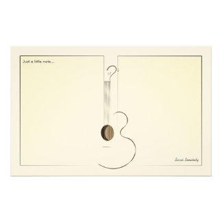 Het akoestische Schrijfpapier van het Ontwerp van Briefpapier