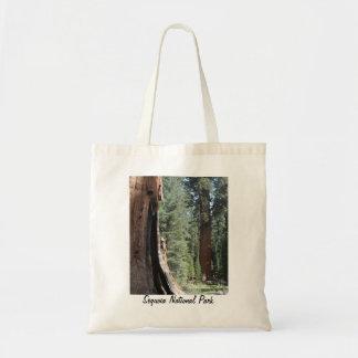Het algemene Nationale Park van de Sequoia van de Draagtas
