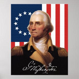 Het algemene Poster van George Washington