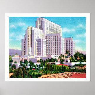 Het Algemene Ziekenhuis van de Provincie van La Poster