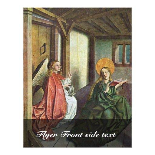Het Altaar van het Altaar van Marie buiten een Vle Fullcolor Folder