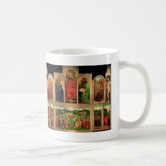 Het Altaarstuk van januari van Eyck- The Gent Koffiemok