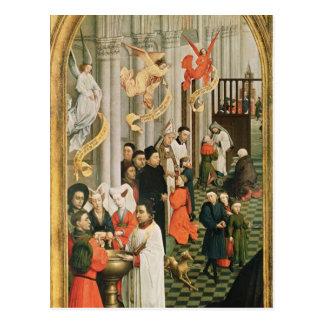 Het altaarstuk van Zeven Sacramenten Briefkaart