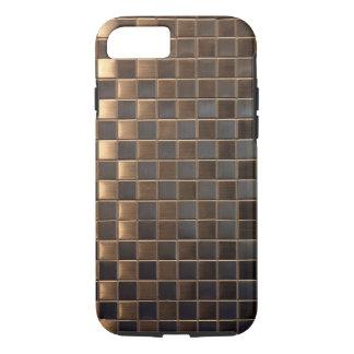 Het aluminium-Gevolg van het koper Tegel iPhone 8/7 Hoesje