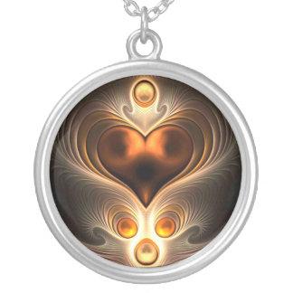Het amber Ketting van het Hart van de Eeuwigheid
