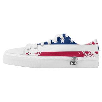 Het americana Sneakers van de laag-Bovenkant van