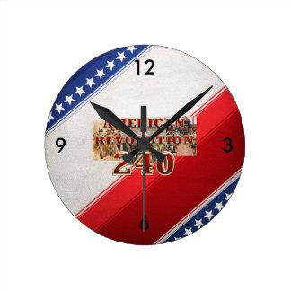 Het Amerikaanse 240ste Jubileum van de Revolutie Ronde Klok Medium