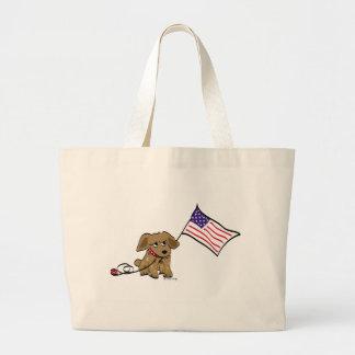 Het Amerikaanse Canvas tas van de Trots