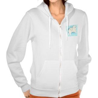 Het Amerikaanse EskimoSweatshirt van de Hond Sweatshirt Met Hoodie