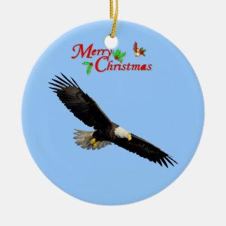 Het Amerikaanse Kale Ornament van Kerstmis van