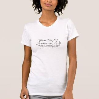 Het Amerikaanse Kind, Vrijwilliger, bevordert, T Shirt